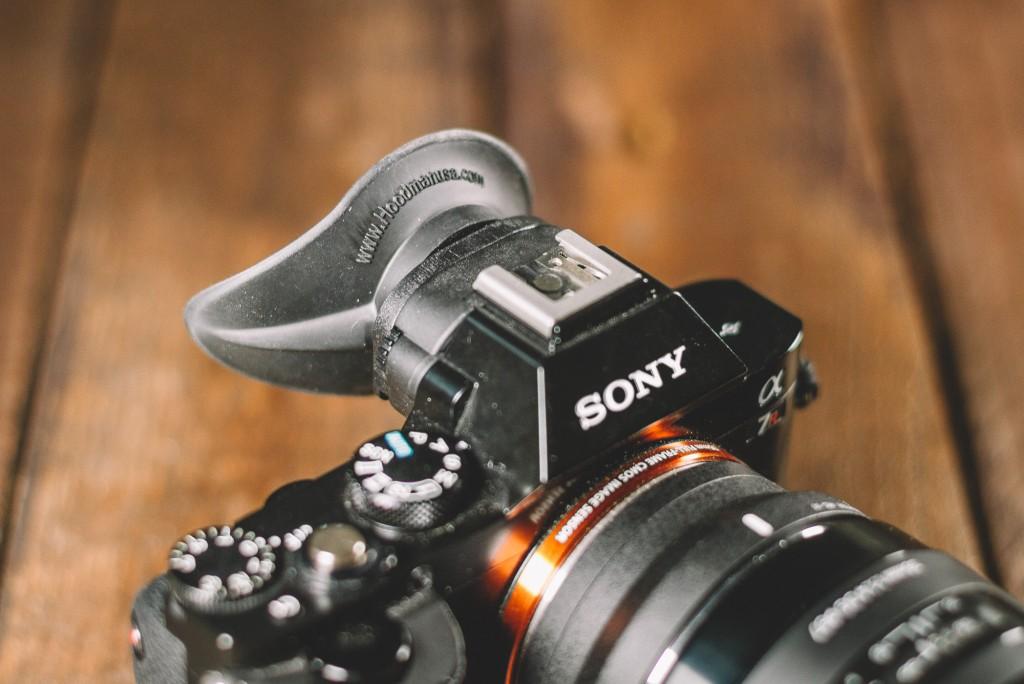 Augenmuschel für Sony A7 Hoodman HoodEYE HEYES